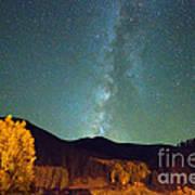 Autumn Milky Way Poster