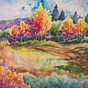 Autumn Near Taos Poster