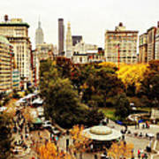 Autumn - New York Poster by Vivienne Gucwa