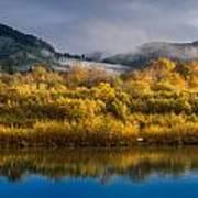 Autumn On The Klamath 1 Poster