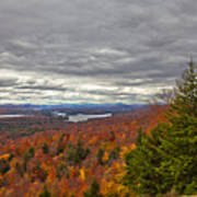 Autumn On Top Of Mccauley Mountain Poster