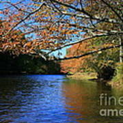 Autumn Paddle On The Quinnebaug  Poster