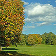 Autumn Panorama 1 Poster