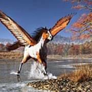 Autumn Pegasus Poster