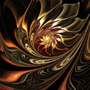 Autumn Reverie Abstract Poster