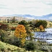 Autumn Rural Scene Poster