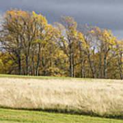 Autumn Skies Canaan Valley Of West Virginia Poster