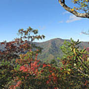 Autumn Smoky Mountains Poster