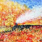 Autumn Snow Poster