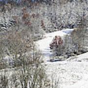 Autumn Snow West Virginia Poster