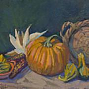 Autumn Still Life Poster