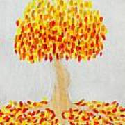 Autumn Tree Poster