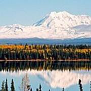 Autumn View Of Mt. Drum - Alaska Poster