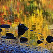 Autumns Rainbow Poster