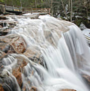 Avalanche Falls - White Mountains New Hampshire Usa Poster