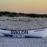 Avalon Lifeboat Poster