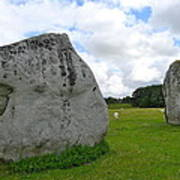 Avebury Megaliths Poster