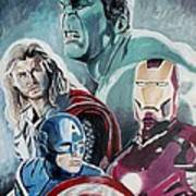 Avengers Poster by Jeremy Moore