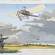 Aviation Meeting At Champagne Poster