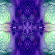 Awakening Spirit - Pattern Art By Sharon Cummings Poster