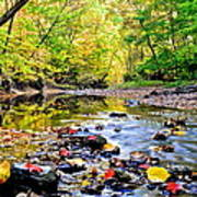 Awesome Autumn  Poster by Frozen in Time Fine Art Photography