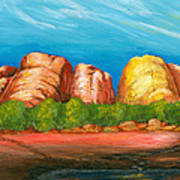 Ayers Rock End Poster