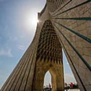 Azadi Tower  Tehran  Iran Poster