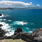 Azores Islands Ocean Poster