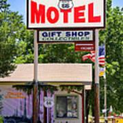Aztec Motel -  Seligman Poster