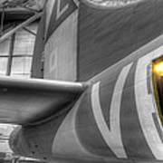 B-17 Bomber Tail Poster