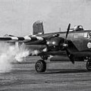 B-25 Mitchell Mk IIi Powers Up Poster