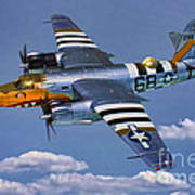 B-26b Marauder Poster
