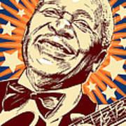 B. B. King Poster