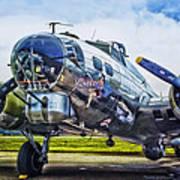 B17 Bomber Yankee Lady Poster