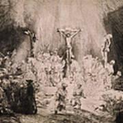 The Three Crosses, Circa 1660 Poster