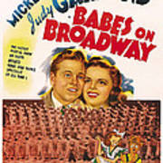 Babes On Broadway, Us Poster Art Poster