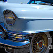 Baby Blue Caddy Poster