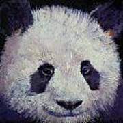 Baby Panda Poster by Michael Creese