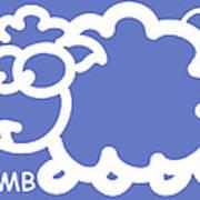 Baby Room Art - Lamb Poster by Nursery Art