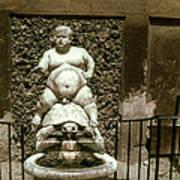 Bacchus Fountain Poster