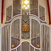 Bach Organ Leipzig Poster