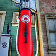 Gasoline Pump Randsburg California Poster