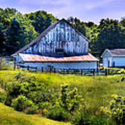 Back Roads Country Barn Poster