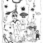 Back Rooms Of My Mind Door 10313 Poster