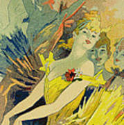 Back-stage At The Opera Poster by Jules Cheret