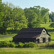 Backroads Barn Poster by Robert J Andler