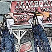 Backwards Bluegrass Poster