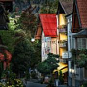 Bad Hindelang Austria At Dusk Poster