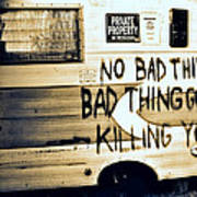 Bad Thing Go Home Poster