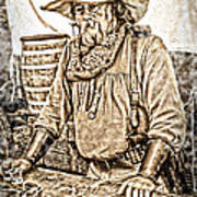 Bad Times Pilgrim Gotta Be Ready Poster by Randall Branham